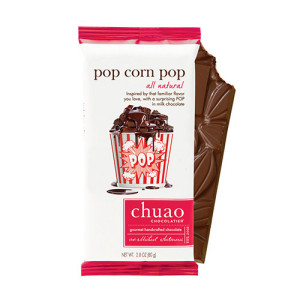 chuao popcorn choc